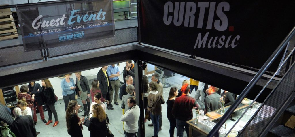 Lancement de l'entreprise Curtis Music by Guest Events - Avignon -